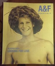 ABERCROMBIE & FITCH 1998 Spring Break Catalog Bruce Weber RARE COLONGE INSERT