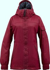 BURTON Women's BROOMSTICKS Snow Jacket - Red Handed - Small - NWT