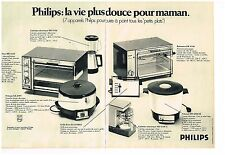 Publicité Advertising 1970 (2 pages) Les appareils ménager Philips
