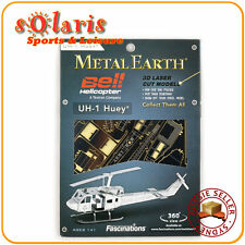Fascinations Metal Earth UH-1 Huey 3D Miniature Steel Bell Helicopter Model