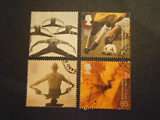 "2000 GB STAMPS ""BODY AND BONE""-FINE USED"