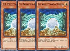 Playset 3 x The White Stone of Legend - LDK2-ENK04 - Common