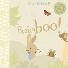 Peter Rabbit Naturally Better: Peekaboo! by Beatrix Potter (2009, Board Book)