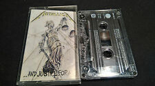 METALLICA ....And Justice For All   *RARE MC DOLBY TAPE*NM*