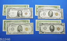 Hawaii WWII Replica Currency Set WW2 Paper Money Copy