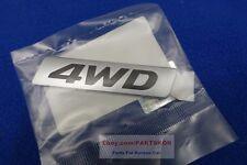 For 2013 ~ Hyundai Santa Fe DM Trunk Rear 4WD Emblem Badge  Genuine Part