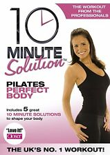 10 MINUTE SOLUTION PILATES PERFECT BODY DVD