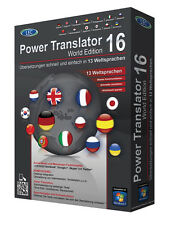Power Translator 16 Edición Mundial 13 Lenguas Power Translator