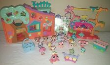 Lot of 16 Littlest Pet Shop LPS Cats Dogs Birds Bugs Accessories Play sets