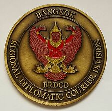 VHTF State Department Diplomatic Courier Division SES Level Bangkok Region BRDC