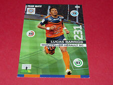 LUCAS BARRIOS MONTPELLIER MHSC MOSSON FOOTBALL ADRENALYN CARD PANINI 2015-2016