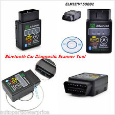 2016 OBD2 ELM327 V1.5 Bluetooth Car Scanner Auto Scan Diagnostic Tool OBD-II New