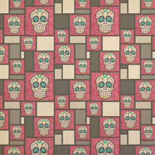 Sugar Skull Kraft Present Gift Wrap Wrapping Paper