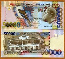 St Thomas & Prince, 50000 (50,000) Dobras, 2010, P-68-New, UNC   Kingfisher