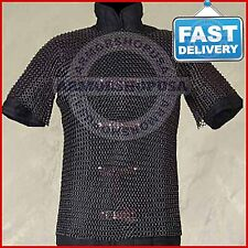 Cheap Halloween Costumes, Adult Halloween Costumes Chainmail Shirt Butted Black