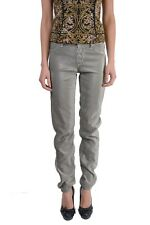 Just Cavalli Women's 'Just Chic' Silver Sparkle Jeggings Pants US 26 IT 40