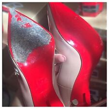 Paint For DIY Christian Louboutin Heels Red Bottoms Red Soles �� Fix Your Shoes
