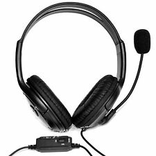 Headset OverHead Headphones with Mic for Live Chat Sony PlayStation 4, xBox One