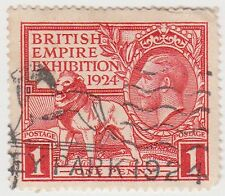 (GBB11) 1924 GB 1d red British Empire exhibition