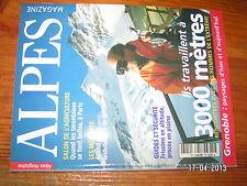 Alpes Magazine n°56 Les Ménuires Grenoble Guides & sécurité Hommes de l'extreme