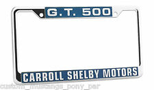 Mustang Number Plate Licence Frame USA Size Shelby GT500 1967 1968 67 68 Eleanor
