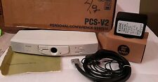 SONY DSPCS-V2 PERSONAL CONFERENCE SYSTEM VIDEO AUDIO PCS-V2 NEW $399