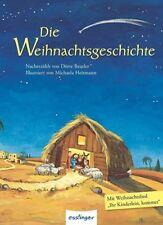 �� DIE WEIHNACHTSGESCHICHTE von Michaela Heitmann, Dörte Beutler NEU