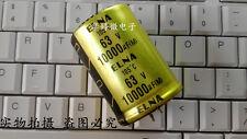 2PCS Japan ELNA 10000uF 63V Top audio filter capacitor 105°C 35X50 #G140A XH
