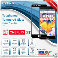 3D Toughened HD Tempered Glass Edge-To-Edge Curved Full Cover for OnePlus 3 / 3T