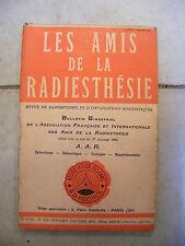 Les Amis de la Radiesthésie N°103 Novembre Décembre 1952