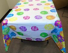 "Twinkle Balloons Plastic Table Cover, 84"" x 54"" ~  Kid's Birthday Party Decor"