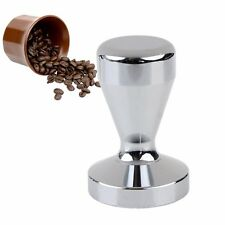 Stainless Steel Tamper Coffee Espresso Barista 51mm Base Coffee Grip Durable