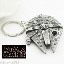 STAR WARS MILLINIUM FALCON Figurine / Pewter Key chain collectible