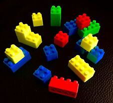 18 X Brick Erasers Rubbers Novelty Erasers Blocks Toys Limited Stock