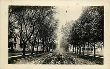 c1912 Real Photo Postcard; Residence Street, La Porte City IA Black Hawk County