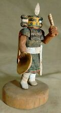 Outstanding Hopi Minaiture Hemis Mana Kachina  by R. K. Haro Jase Carved 1991