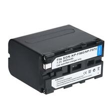 NP-F970 7.2V 6600mAh Li-ion Battery for SONY NP-F930 F950 F960 F970 DSR-PD19