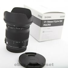 SIGMA standard zoom lens 17-70mm F2.8-4 DC MACRO OS HSM for Canon Japan Model