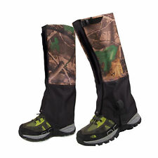 2pc/set  Double Layer Walking Hunting Hiking Snow Snake Gaiters Legging Gaiter