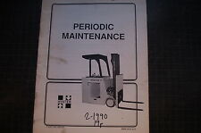 HYSTER Industrial Lift Truck FORKLIFT User Owner Maintenance Manual book shop