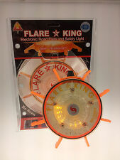 Amber Battery Operated FlareKing- Emergency/ Warning Road Flare and Safety Light