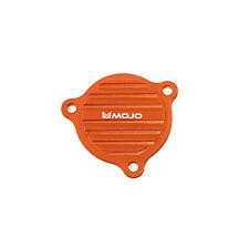 MOJO KTM Oil Pump Cover - CNC Billet Anodized Aluminum - Orange '08-'16