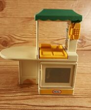 Vintage Little Tikes Doll House Kitchen Island Counter Sink Phone T1