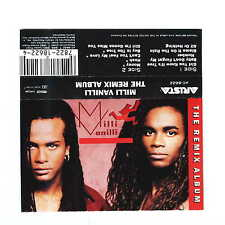 MILLI VANILLI The Remix Album (Cassette)
