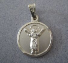 Mexican 925 Silver Taxco Baptism Christening Santo Nino Baby Jesus Pendant Medal