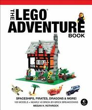 The LEGO Adventure Book, Vol. 2: Spaceships, Pirates, Dragons & More!-ExLibrary