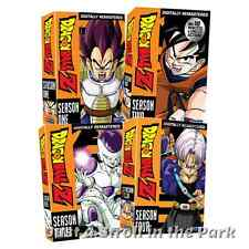 Dragonball Dragon Ball Z: Anime Series Complete Seasons 1 2 3 4 Box/DVD Sets NEW