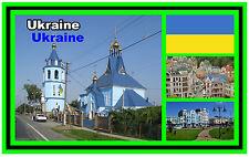UKRAINE - SOUVENIR JUMBO FRIDGE MAGNET - BRAND NEW - GIFT