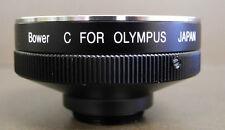 Cine C Mount to Olympus OM Lens Adapter for Eclair Bolex NPR 16mm