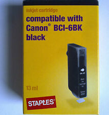 STAPLES C-16 Compatible Canon BCI-6BK für BJC 8200/S800-9000/i865-9950/PIXMA iP